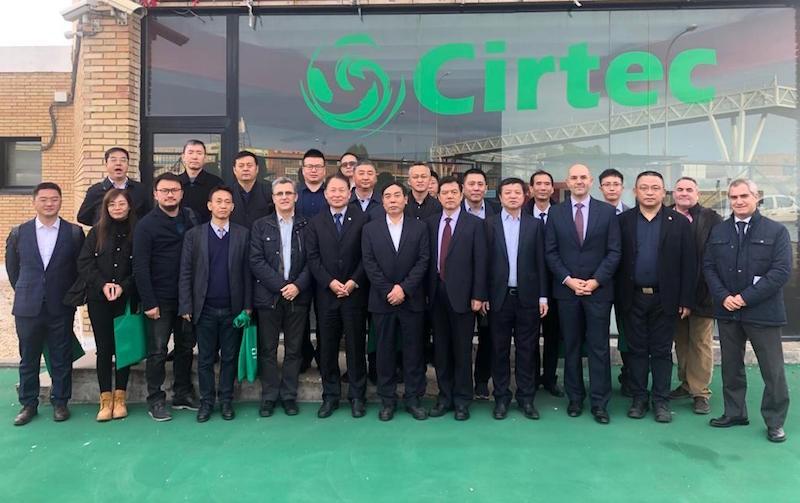 RARx A Chinese Delegation visits Cirtec