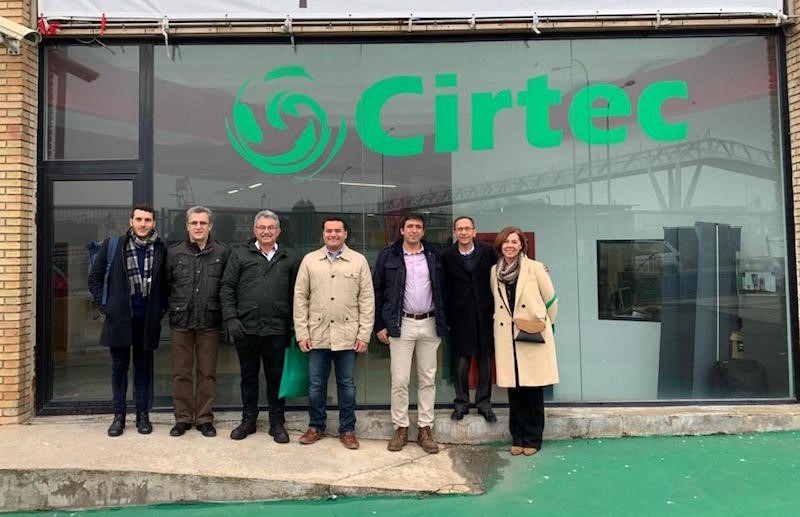 A commission from the municipality of Mérida (Mexico) visits Cirtec