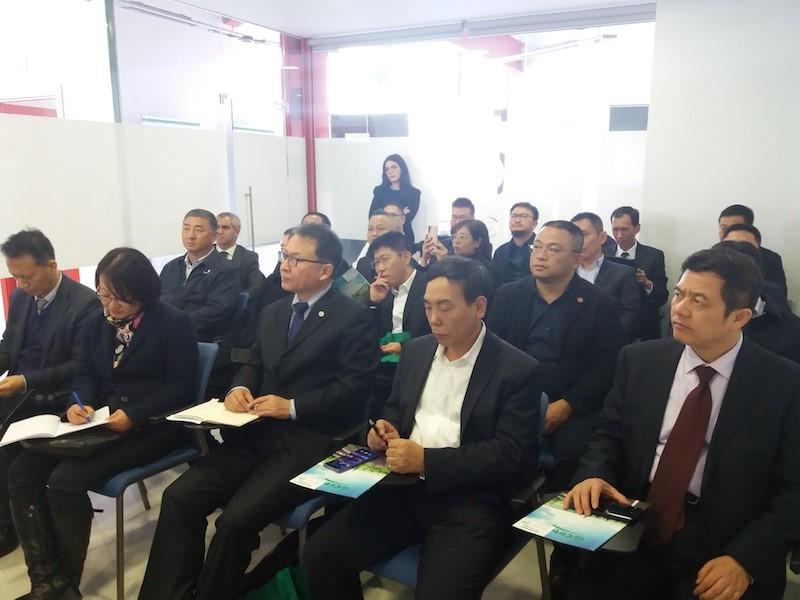 RARx A Chinese Delegation visits